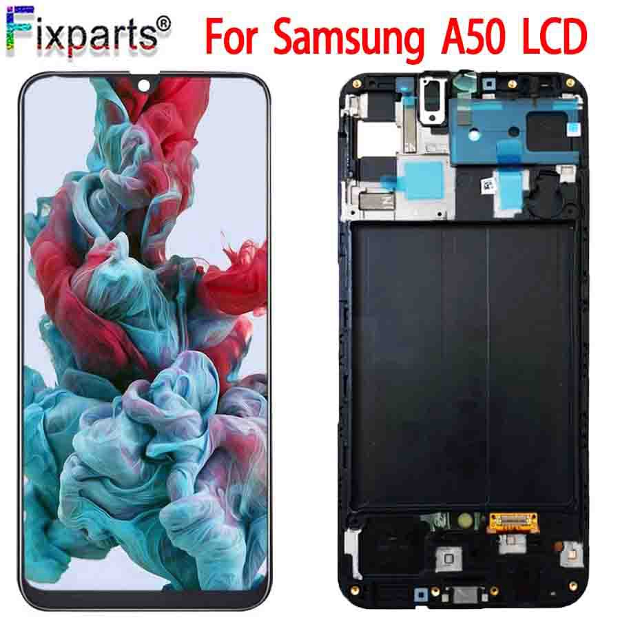Original Tested For Samsung Galaxy A50 A505F/DS A505F A505FD A505A Display Touch Screen Digitizer Assembly For Samsung A50 LCD image