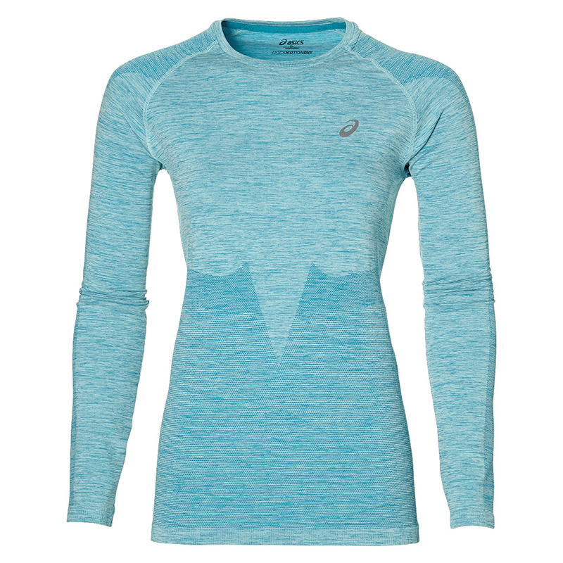 Female Longsleve ASICS 134610-8065 sports and entertainment for women sport clothes available from 10 11 asics mountaineering t shirt 134610 8065