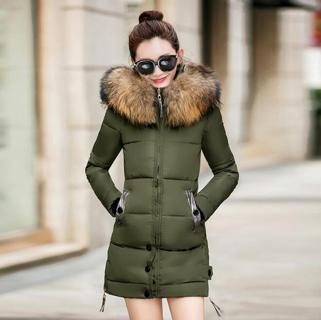 Épais D'hiver Nouveau Veste Pour Manteau Hiver Coton Survêtement Parkas Outwear Femmes wx66qYIP