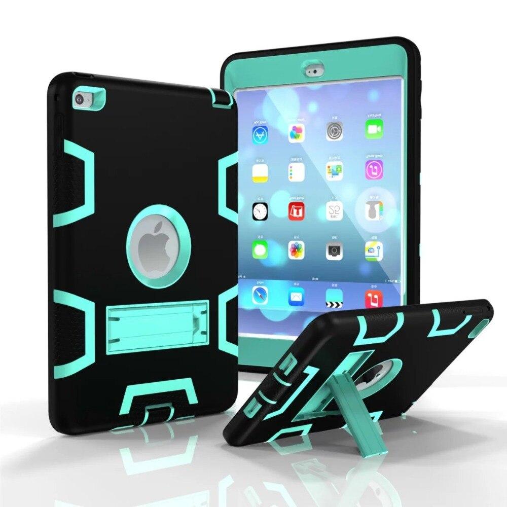 Custodia coque per iPad Mini 4 in plastica resistente + Custodia - Accessori per tablet