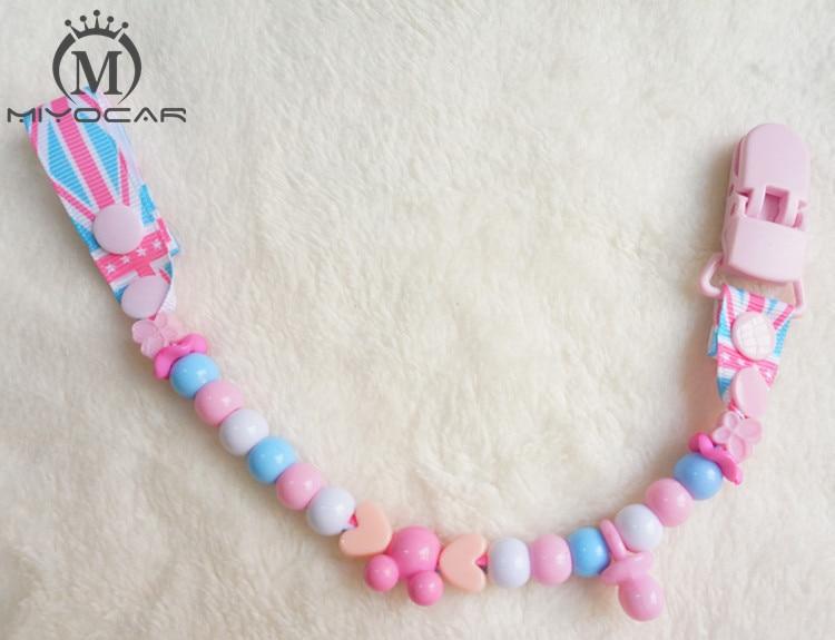 MIYOCAR Lepe varne pisane smešne kroglice ročno narejene sponke za verižice / verižna posnetek za lutke / ščepec za zobje / držalo za plenice
