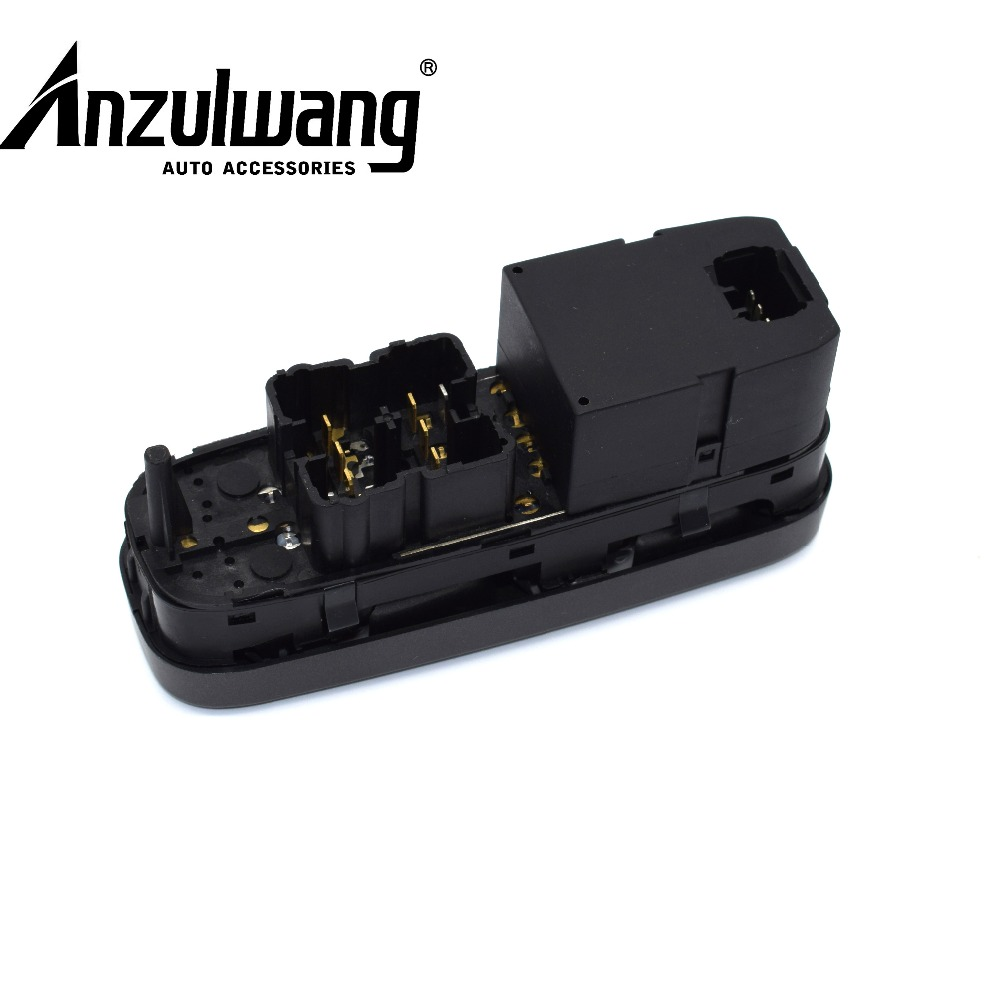 ANZULWANG 8638452 New Electric Power Window Master Control Switch For Volvo V70 S70 XC70 1998-2000