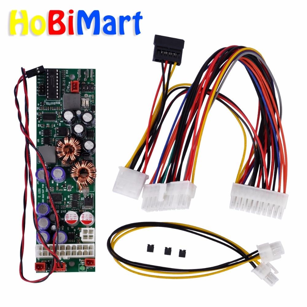 HoBiMart DC m2 atx 200 w dc atx alimentation module 8 v-28 v Mini-ITX M2 voiture PC DC-DC ATX Alimentation Avec ITPS # E09007