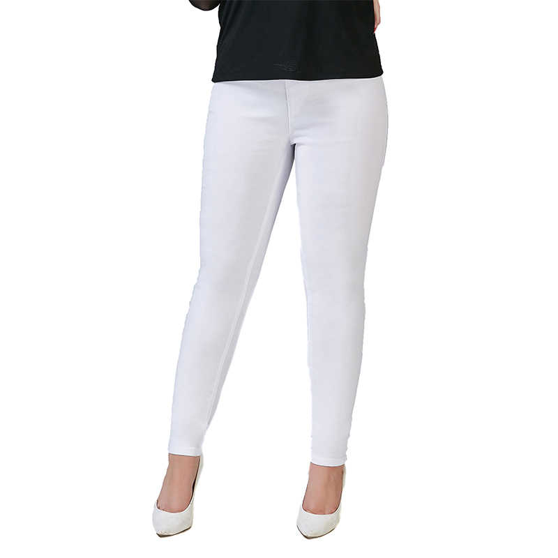 fb30f6aec6a Weweya Basic Skinny Black Jeans Woman Plus Size 5XL Ankle Pencil Pants Slim  Elastic Denim Pants
