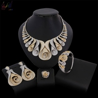 Yulaili 2018 Deisgn Costume American Zircon Stone Luxury Top Quality Jewelry Set