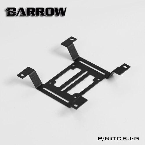 Купить с кэшбэком BARROW Radiator Metal Flat bracket Water coolant tank bracket Water pump bracket size 12cm fan 120X120X15mm