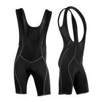 Hot Sale Cycling Bib Shorts Men Cycling Jersey MTB Ropa Ciclismo Moisture Wicking Shorts 3D Spong Padded Size M-XXXL