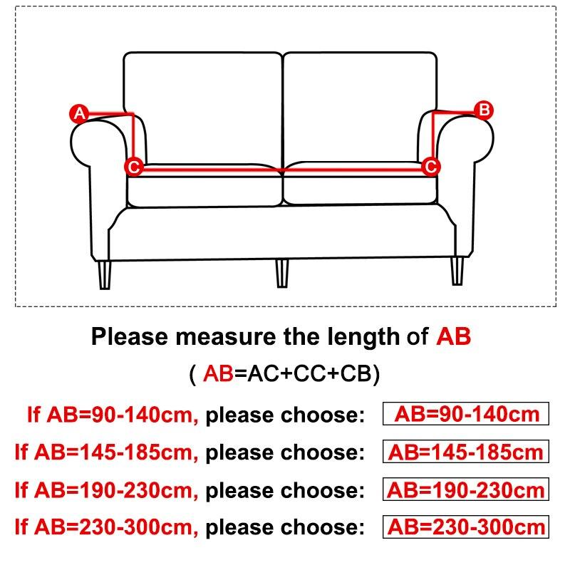 Günstige Kaufen Lellen Plüsch Stoff 1 2 3 4 Sitz Sofa Abdeckung