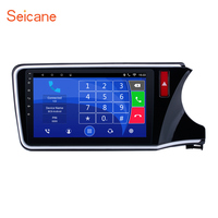 Seicane 10.1 Android 6.0 ROM 16GB Car Radio Stereo GPS Multimeia Player for 2014 2015 2016 2017 HONDA CITY Right Hand Drive