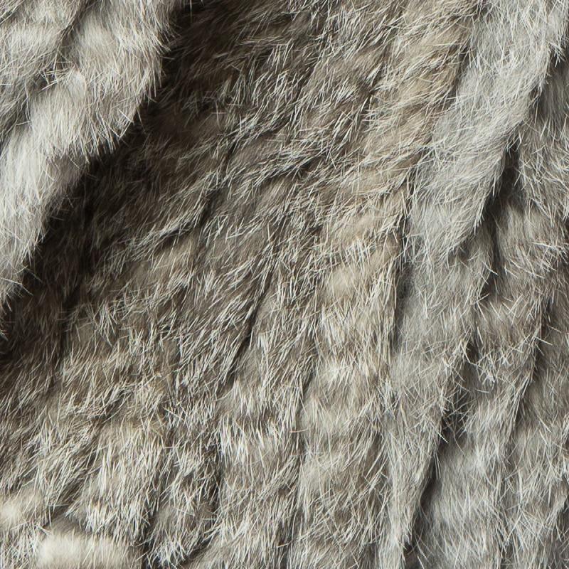 Chaud Pardessus Russe De Véritable Fourrure Femmes Tricoté Épais Fox Hiver 3 Veste Lapin Col Cr072 Avec Manteau Real nqZB70S