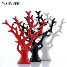 Office Decoration Ceramic Tree Design Ornaments For Sale