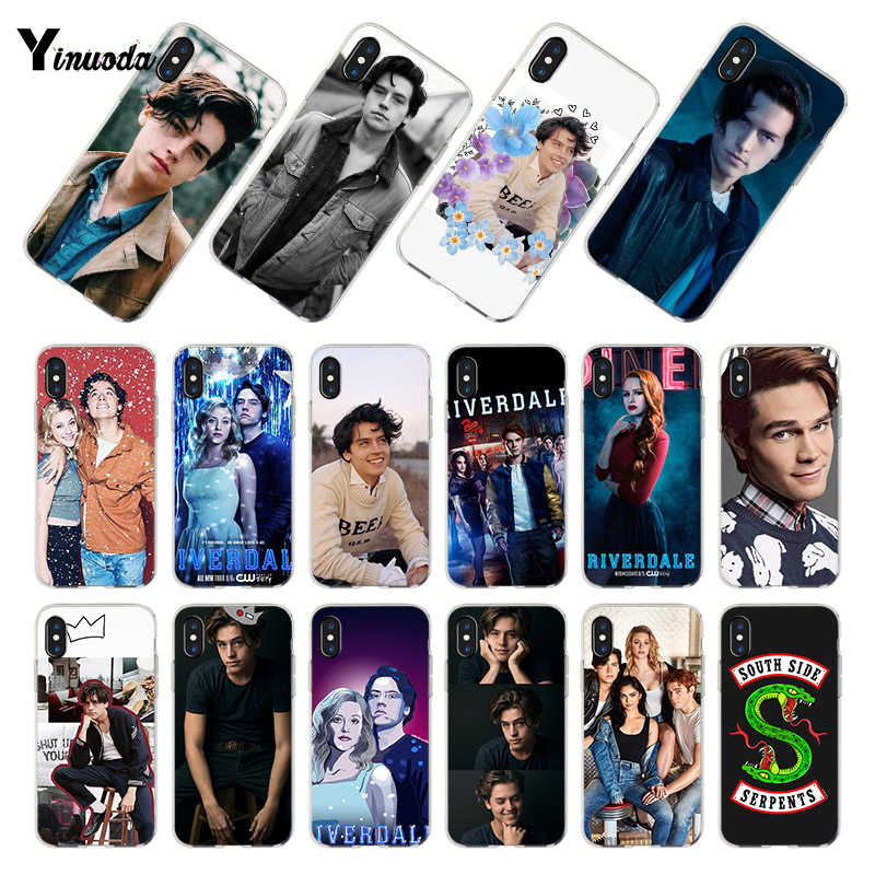 Yinuoda tv riverdale Jughead Jones transparent soft tpu phone case cover for iPhone 8 7 6 6S Plus XS XR 5S SE 5C case Coque