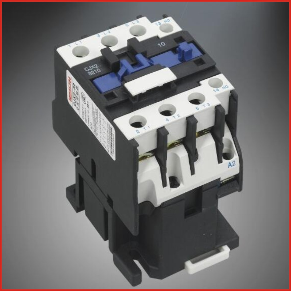 Contactor DC AC contactor 220V 380V low voltage apparatus switch mini hdmi LC1D series contactor old type CJX2-D32(LC1-D32)