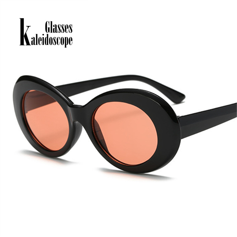US $3 0 40% OFF|Kaleidoscope Glasses Kurt Cobain Glasses Men Clout Goggles  Eyes Curt Cobain Sunglasses for Women Retro Round Eyeglasses-in Men's