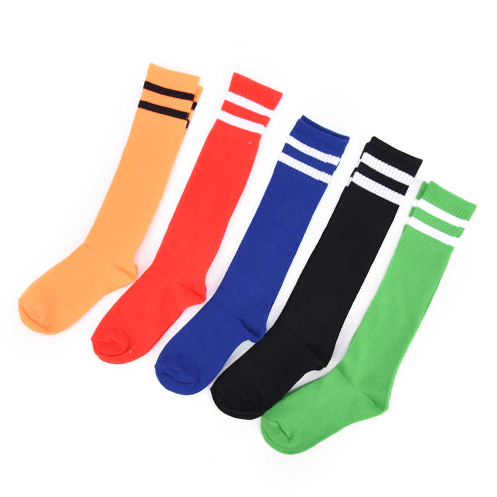 1pair quality football socks soccer socks mens kids boys sports durable long adult basketball thickening