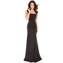 Mode Strass Gurt Formalen Kleid Kleid Glamorous Trägerloses Neck Zipper Zurück Abendkleider 2016 Vestide tun Noite