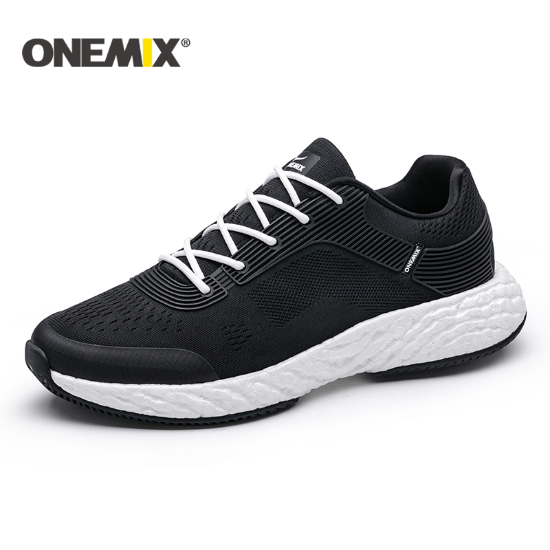ONEMIX 2018 New Running Shoes for Men Light Women Sneaker Outdoor Athletic Jogging Mesh Uppers and