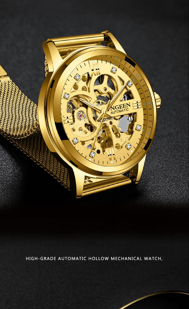 HTB1HmnWKkKWBuNjy1zjq6AOypXaS Skeleton Watch 2019 New FNGEEN Sport Mechanical Watch Luxury Watch Mens Watches Top Brand Montre Homme Clock Men Automatic Watch