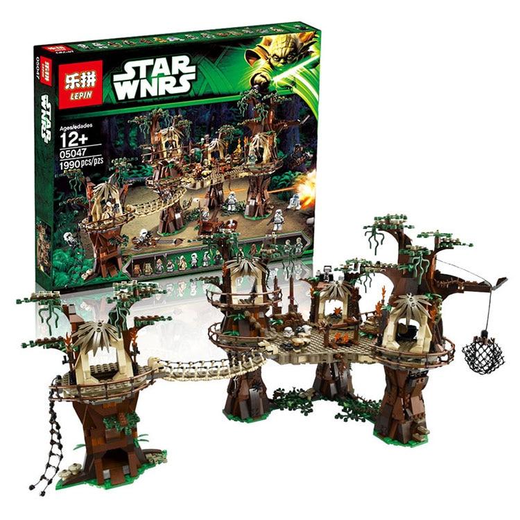 Lepin 05047 1990Pcs Star Wars The  Village Model Building Kit Blocks Bricks Toy Compatible legoed 10236 lepin 22001 pirate ship imperial warships model building block briks toys gift 1717pcs compatible legoed 10210