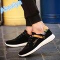 2017 Homens Respirável Sapatos Casuais Sapatos da moda dos homens de Alta Qualidade de luxo de marca designer masculino sola de borracha sapatos zapatillas sapatos homens