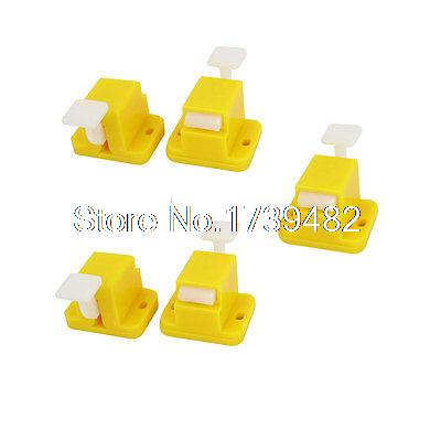 5 Pcs Plastic Prototype Test Fixture Jig Yellow for PCB Board DIY double side prototype pcb breadboards 2 x 8cm 10 pcs