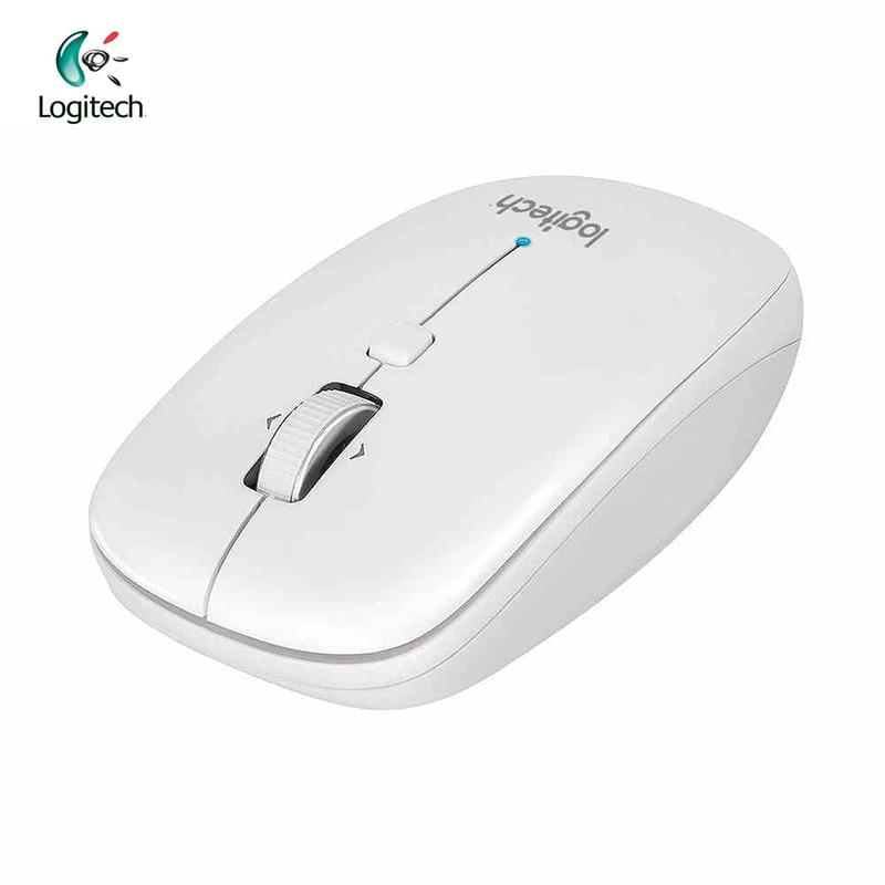 Logitech M558 Wireless Bluetooth Mouse Gaming Laptop Original 1000DPI Mice