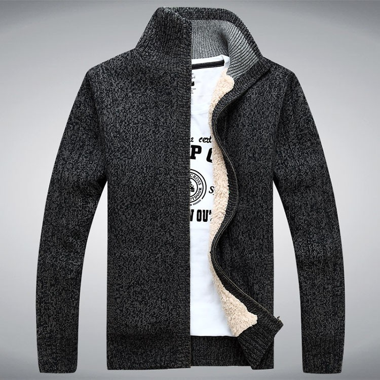 Aolambgs Sweater Men Autumn Winter Wool Thick Male Cardigan 2016 Fashion Brand Clothing Outwear Knitting Sweter Hombre M-3XL (3)