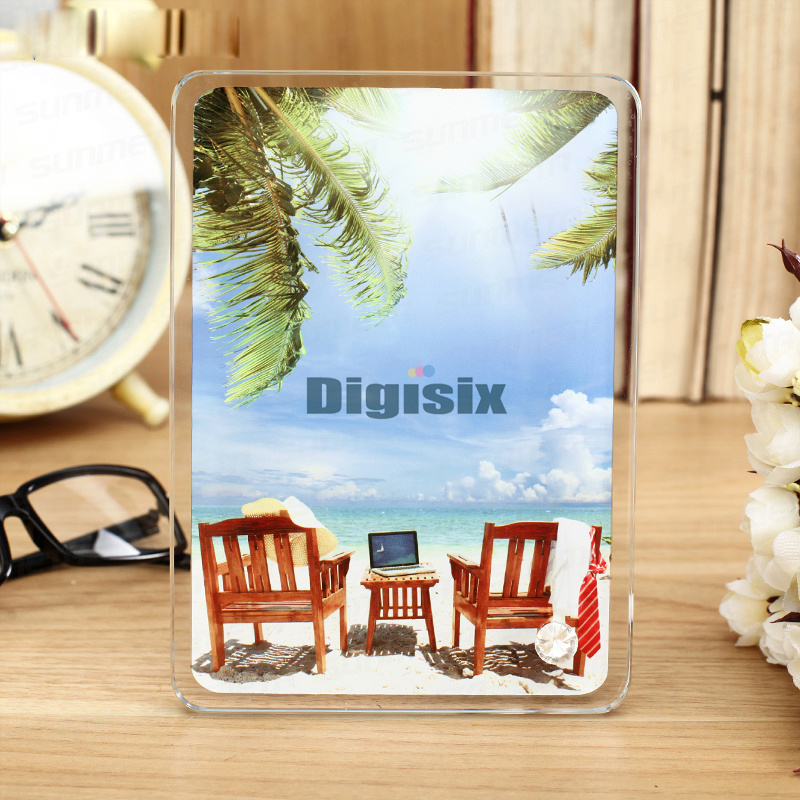 Crystal glass frames wholesale thermal transfer supplies factory ...