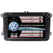 Dual core 2 Цветов 8 «автомобильный DVD для VW golf 4 golf 5 6 passat touran B6 sharan jetta caddy transporter t5 поло ти с BT, МЖК USB