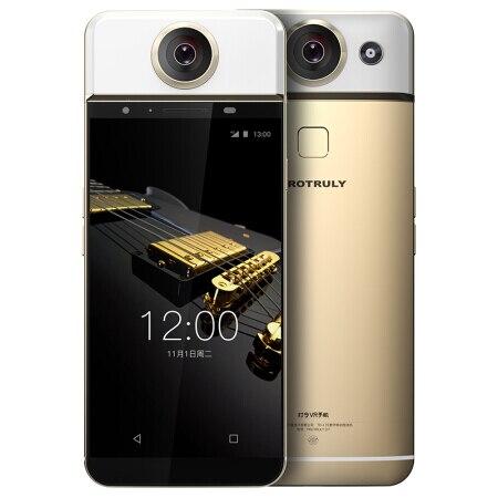 D'origine PROTRULY D7 5.5 pouce AMOLED 360 Degrés VR 13MP Mobile Téléphone 4g Android MTK6797 Deca Core 3g + 32g Smartphone
