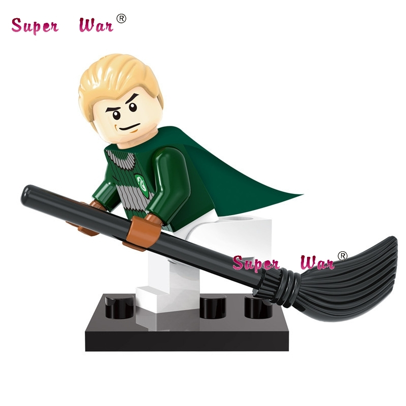 1PCS star wars superhero Harry Potter Draco Malfoy building blocks action sets model bricks toys for children