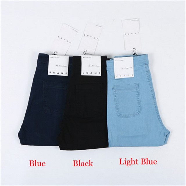Hot Selling High Waist Jeans Woman Skinny Jeans Femme Stretch Ladies Jeans Slim Lift Hip Denim Pants Trousers For Women 5