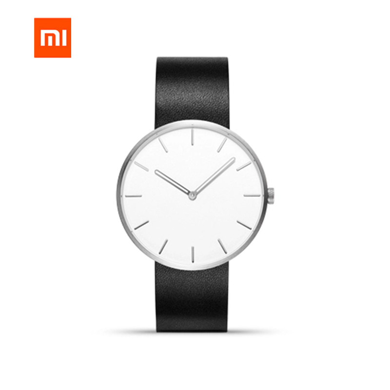Smart Remote Control Consumer Electronics Impartial Original Xiaomi Mijia Twentyseventeen Series Casual Style Wrist Watch Life Waterproof Couple Quartz Watch