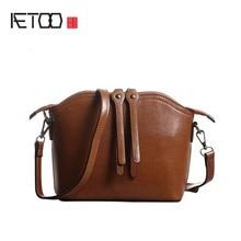AETOO 2017 Women Bag split Leather Handbags Cross Body Shoulder Bags Fashion Messenger Bag Women Handbag Bolsas Femininas