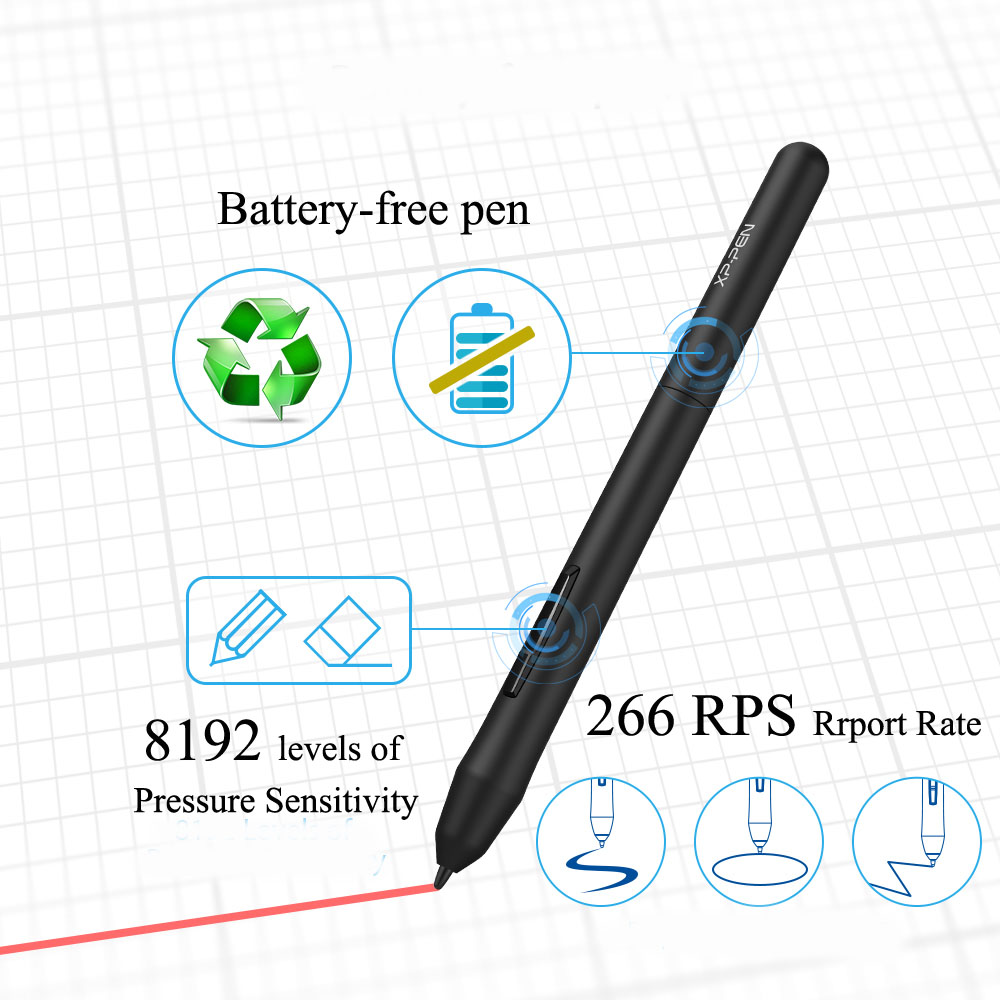 XP-Pen Star G640 Graphics tablet – the Tablet Store