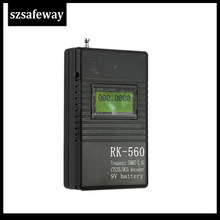 RK560 50MHz-2.4GHz Portable Handheld Frequency Counter DCS CTCSS Radio Frequency Meter Counter(China)