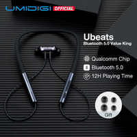 UMIDIGI Ubeats Wireless Earphone Bluetooth 5.0 With Mic In-ear Sport Magnetic Headset Stereo Earbuds Neckband Earpieces kulaklIk