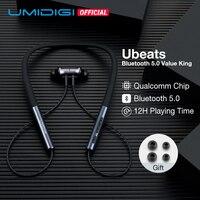 UMIDIGI Ubeats Wireless Earphone Bluetooth 5.0 With Mic In ear Sport Magnetic Headset Stereo Earbuds Neckband Earpieces kulaklIk