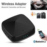 New Optic Fiber 2 In 1 Bluetooth Wireless Adapter Bluetooth Transmitter Receiver support APT X AAC Audio Adapter TV Transmitter