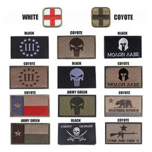 Stickerei Patch Bestrafung Person Shantou Texas Flagge Haken Ring Taktische Patch Militär Uniform Moral Madik Wind Tuch Standard(China)