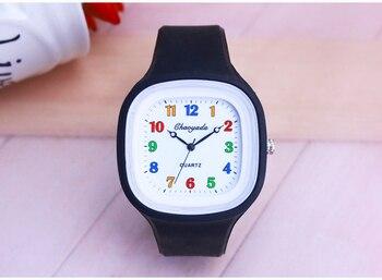 da016ad9e Reloj deportivo de moda 2018 CYD para mujer, correa de silicona para  estudiantes, reloj
