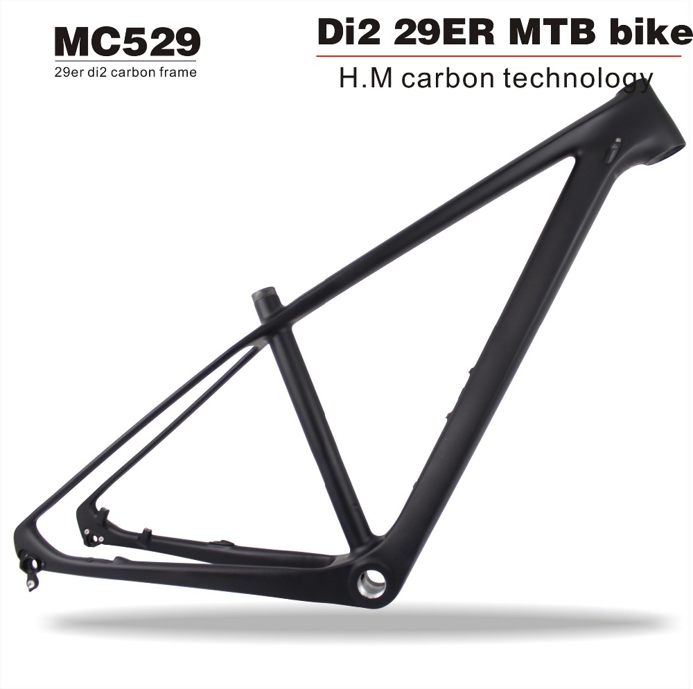 2018 MIRACLE 29er Carbon Mountain Frame Di2&Mechanical Carbon Bikes Mtb Frame Uadro De Bicicleta 29er Carbon Bicycle