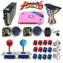 Новые 3D Tekken DIY kit с Pandora Box 6 pcb 1300 в 1 питание джойсветодио дный Стик LED кнопка для аркадная игра Кабинет машина