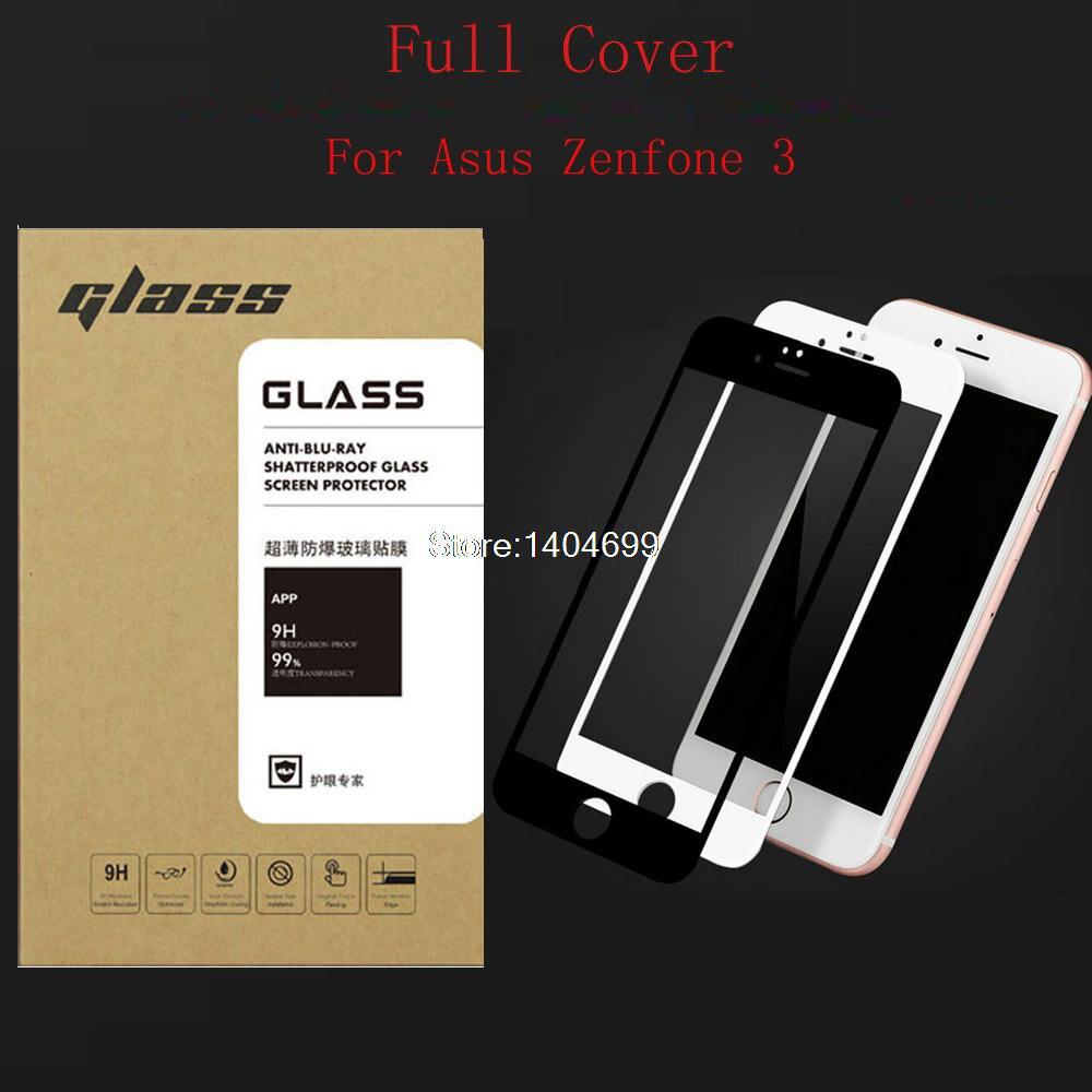 Ultra Mince 2.5D Pleine Couverture Protecteur D'écran En Verre Trempé Pour Asus Zenfone 3 ZE520KL ZE552KL