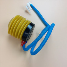 Hot 1pc  Float inflatable toy balloon inflator air pump on foot - high quality articles and party