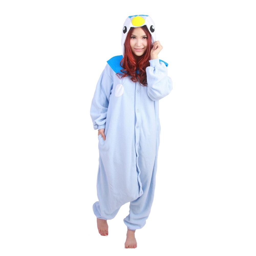 827e3bf6b Animal Adult Blue Penguin Kigurumi Custom Made Pajamas Cartoon ...