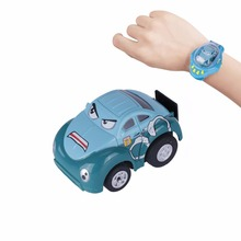 Mini Fjernbetjening Bil Toy Opgraderet Gravity Sensor Racer Wristband Koncept RC Bil Toy Med USB Charge For Kids Hobbyist Indsamle