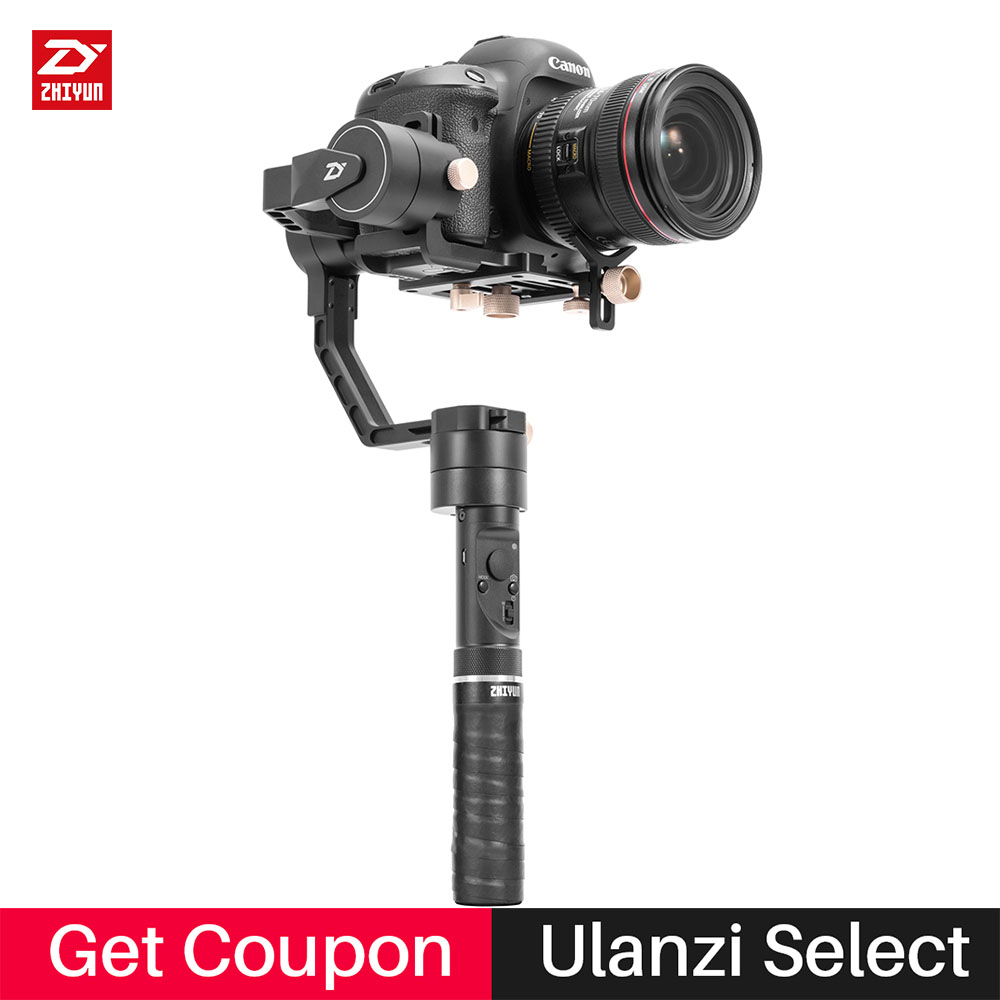 Zhiyun Crane Plus 3-Axis Handheld Gimbal Stabilizer for Canon 5D3 Sony A7 Nikon Mirrorless DSLR Camera Support 2.5KG POV Mode viltrox yb 3m 3m professional extendable aluminum alloy strong camera video crane jib arm stabilizer for canon nikon sony dslr
