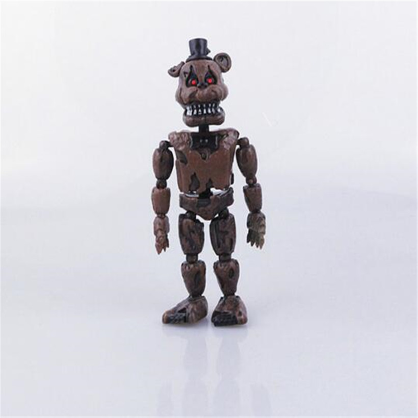 Double 11 Hot Sell 15 CM Anime Figure Five Nights At Freddy's Action Figure FNAF Bonnie Foxy Freddy Fazbear Bear PVC Model Dolls