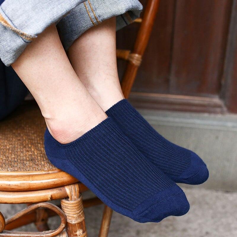 Mantieqingway Summer Boat Sock For Men Women Solid Color Short Tube Socks for Wedding Business Dress Ankle Socks for Gift